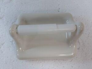 Beige Bone Ceramic Toilet Paper TP Holder Vintage Kohler Biscuit K175 Color 346