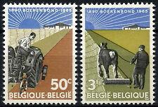 Belgium 1965 SG#1935-40 Farmers MNH Set #D49175