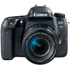 Canon EOS77D 1892C016 DSLR Camera with 18-55mm Lens
