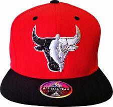 Chicao Bulls Adidas Adjustable Two Tone Logo Snapback Hat