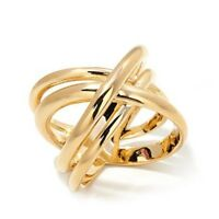 HSN  Bellezza Bronze High-Polished Woven Band Ring SIZE 9 Sold Out $99.98