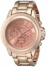 P10 Auction XOXO Women's XO5591 Rose Gold-Tone Bracelet Watch