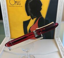 OMAS 360 RED DEMONSTRATOR 000/360 *** FACTORY PROTOTYPE A DREAM PEN ***