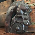 Antique Figural Dragon/Chimera Carving Furniture Finial Architectural Salvage 3