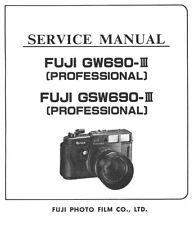 Fuji GW 690III GSW 690 III Service Manual on CD New