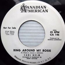 CARL HELM Ring around my Rosie Sweet lovin 1962 w.l.Promo TEEN POPCORN 45 e7162