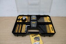 DEWALT DT71569 100PCE WORKSITE DRILL & SCREWDRIVER BIT SET IN TSTAK DRAWER