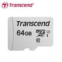 Transcend 300S 64GB micro SDXC C10 UHS-I Speicherkarte bis zum 95MB/s für Handy