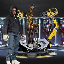 "1/6 Iron Man Suit Gantry Backdrop 15""x15"" - For Hot Toys Tony Stark Diecast"