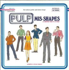 Pulp - Mis-Shapes 1995 CD single