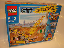 LEGO City 66330 SUPER PACK 5 in 1 NUOVO incl 7632 7746 7990 5620 8401 NEW MISB NRFB