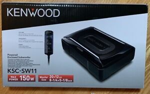 Kenwood KSC-SW11Compact powered subwoofer