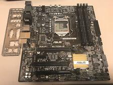 Q170M-C Asus HDMI VGA DVI-D SATA LGA1151 DDR4 Micro ATX Motherboard + I/O Shield