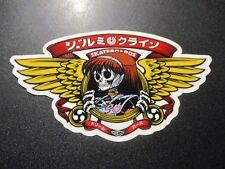 HOOK-UPS Jeremy Klein Skate Sticker DREAM WINGS skateboards helmets decal hentai