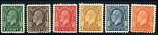 Canada #195-200 mint F/VF OG NH//HR 1932 King George V Medallion Issue Part Set