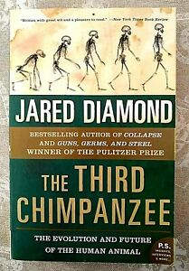 The Third Chimpanzee by Jared Diamond Pre-Owned Excellent Conditions