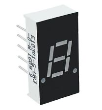 "5 x Red 0.30"" 1 Digit 7 Seven Segment Display Anode LED"