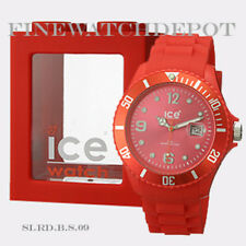 Authentic Ice Sili Red Big Watch SI.RD.B.S.09