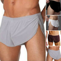 Sale Pouch Trunks Hot Boxer Briefs Side Comfy Underpants Underwear M - XL Shorts