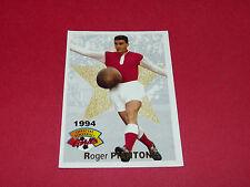 FOOTBALL CARD PANINI 1994 ROGER PIANTONI FRANCE AS NANCY ASNL STADE REIMS