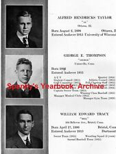 1916 Phillips Andover Academy Yearbook~Photos~History~Football~Baseball~Ads~WWI