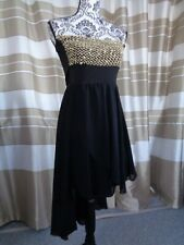 (A32a) Ausgefallenes Damen Abendkleid GR: GR: 36/38