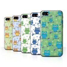 Owl Rigid Plastic Cases & Covers for iPhone 7