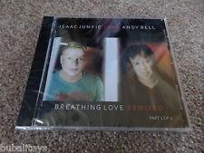 Isaac Junkie ft. Andy Bell - Breathing Love 7 Trk CD SINGLE NEW! 1 of 2 Erasure