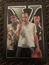 New listing Grand Theft Auto V Gta 5 Five Collectors Edition Steel Book Case Xbox 360