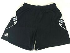 ADIDAS Clima-Cool Boys S (24-30) Gym Shorts Black White
