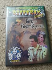 The original Jack The Giant Killer Rifftrax dvd New and sealed. Mystery science