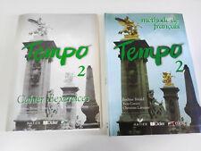 TEMPO 2 METHODE DE FRANCAIS + CAHIER DE EXERCICES + CD EDITORIAL HATIER DIDIER