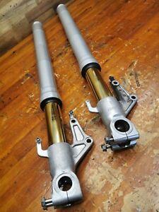 2003 DUCATI 749 Showa Front Forks Shock Suspension Adjustable Gold