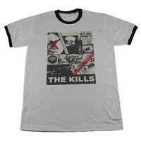 The Kills punk rock guitar biker concert tour Music Retro >C127 T-Shirt M L XL