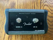 Fender MS2 Footswitch for Mustang I, II, III, IV and V Amplifiers