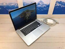 "2015 Apple MacBook Pro Retina 15"" Laptop 16GB RAM 2.5GHz QC i7 512GB Radeon Good"