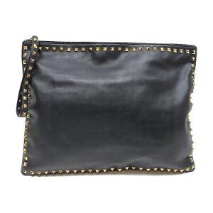 VALENTINO GARAVANI Second Bag  Black Leather 1431547