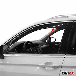 Window Visor Vent Sun Shade Rain Guard 2 Pcs. Fits Volkswagen Tiguan 2018-2021