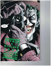 Batman The Killing Joke 1st Printing Joker Batgirl Robin Alan Moore Watchmen Vf+
