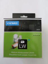 GENUINE DYMO 30334 Medium Multipurpose Labels 1 1/4'' x 2 1/4''