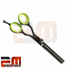 "5.5"" Professional BLACK Thinning Hairdressing Scissors Salon Hair Cutting Shear"