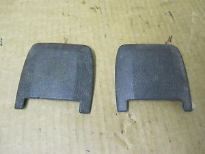 VOLVO S80 S 80 99-03 1999-2003 POWER SEAT BOLT COVER SET OF 2 OE # 92 08 262