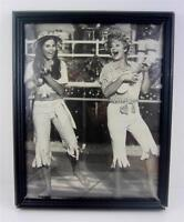 "Lucille Ball Lucie Arnaz Framed Photo ""Ukelele Talk"" Here's LUCY 1971 COA Signed"