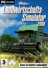 LANDWIRTSCHAFTS-SIMULATOR 2008 - PC CD-ROM - NEU & OVP