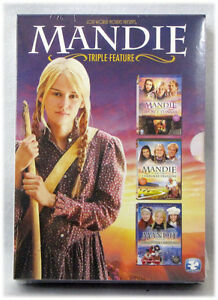 NEW The Mandie Trilogy DVD and Secret Tunnel Cherokee Treasure Christmas