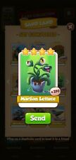 50 x Martin lettuce  Coin Master Cards (Fastest Delivery)