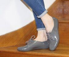 Melissa Mel Richelieu à Chaussures 5 38 Gris à lacets confort en été Pompe Casual Blogger