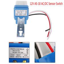 Acdc 12v 10a Auto On Off Photocell Street Light Photoswitch Sensor Switc Ca