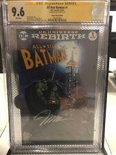 DC Rebirth All Star Batman # 1 Jim Lee Signature Series CGC 9.6 Micheal Turner