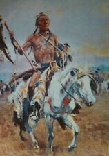 Charles Russell THE MEDICINE MAN American Indian Ltd Ed 871/2500 Pcs 10 1/4""